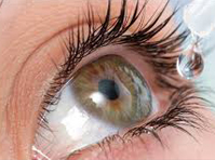 Atropine eye drops for myopia